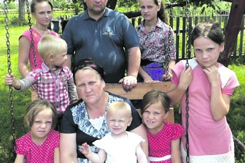 трошев фото с семьей больших