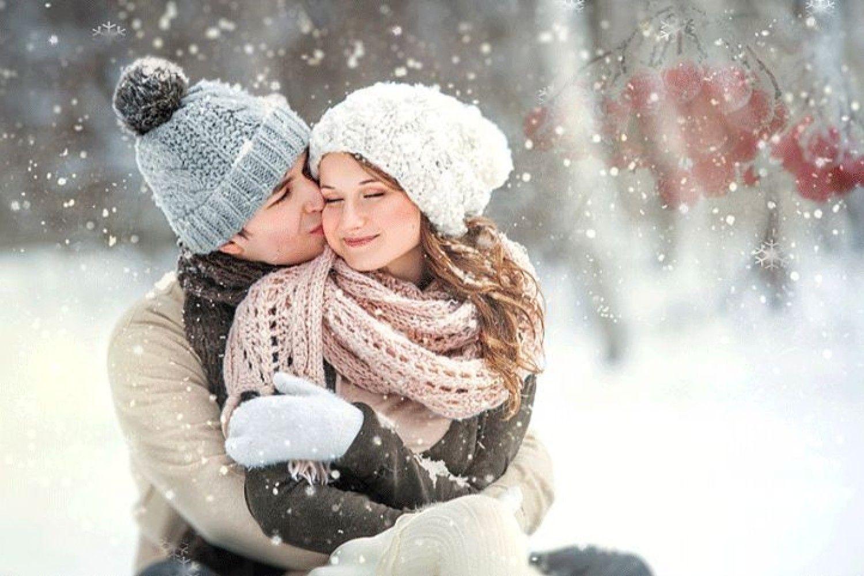 паринь, это фото снег и поцелуй голосов голосованиях