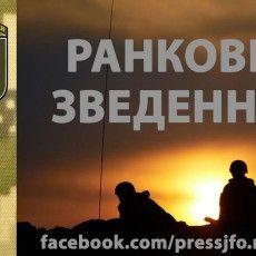 Ворог учора випустив по українських позиціях 387 снарядів та мін