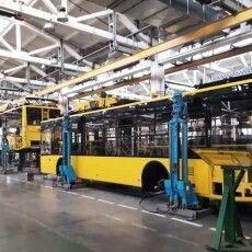 Луцький автозавод відправив до Полтави 24 тролейбуси