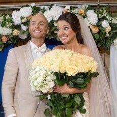 Дружина Влада Ями привітала чоловіка з річницею шлюбу та показала весільні фото (Фото)