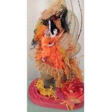 Фігурки ляльок з хліба – берестечківська майстриня представила «Лесину казку» в міні діорамах (Фото)