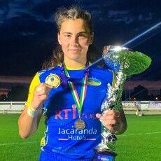 Регбійниця з Волині розповіла як здобувала «золото» на міжнародному турнірі
