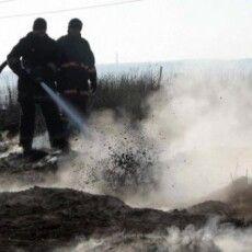 Загоряння торфу на Камінь-Каширщині гасили рятувальники і місцеві мешканці