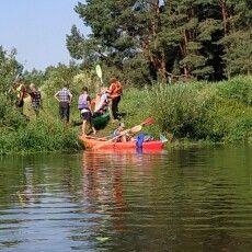 Байдарочний похід «за Маневицький район» подолав половину маршруту (Фото)