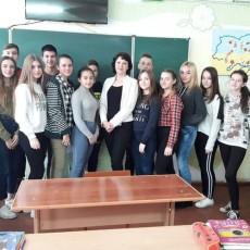 Волинська прокурор пішла до учнів