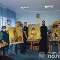 Орудувала організована банда: на Волині у церкву повернули викрадені ікони