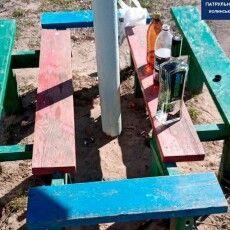 У Луцьку чоловіки, які розпивали алкоголь на дитячому майданчику, чинили опір поліції