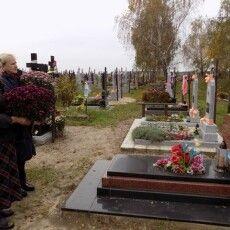 На Любешівщині вшанували пам'ять учасника АТО на місці вічного спочинку (Фото)