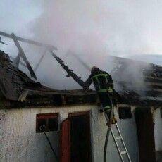 У Камінь-Каширському районі діти запалили хліва