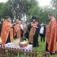 Єпископ Володимир-Волинський і Турійський з громадою відзначав день села