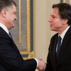 Петро Порошенко зустрівся із Держсекретарем США Ентоні Блінкеном