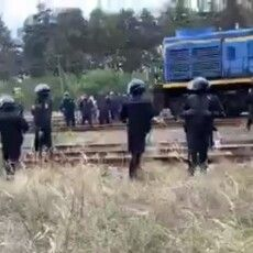«Орли Авакова» розігнали шахтарів та військових, які зупинили залізничні вагони з російським вугіллям