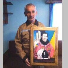 На Волині зек намалював першого космонавта України