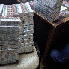 Двоє українців переносили сигарети із Білорусі рюкзаками (Фото)