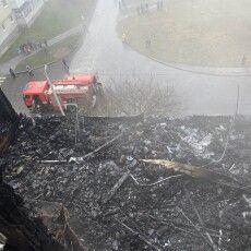 У Луцьку під час пожежі врятували двох жінок та дитину