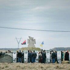 Як на межі Волині і Галичини відтворювали бій УПА з НКВС та слухали Положинського з оркестром (Фото)