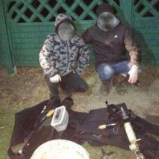 На річці Турії впіймали двох браконьєрів