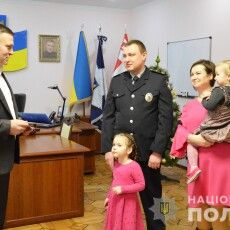 Сім'я волинського поліцейського отримала житло
