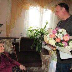 На Волині 100-річна бабуся відзначила ювілей