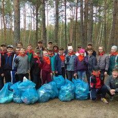 Лісові рейнджери провели екологічну акцію