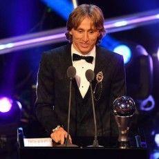 Лука Модрич – найкращий гравець року ФІФА (Відео)