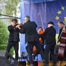 У День Європи в Луцьку було багато чудової музики