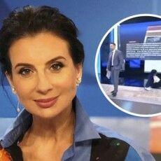 Російську пропагандистку кара за Голодомор настигла у прямому ефірі (Відео)