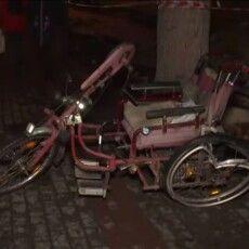 У Луцьку п'яний водій збив чоловіка в інвалідному візку (Відео)
