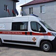 Волинські рятувальники отримали новий спецавтомобіль