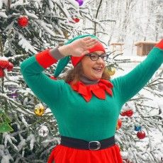 Красуня ялинка, танці, ельфи і подарунки у Воротневі (Фото, відео)