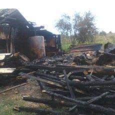 На Камінь-Каширщині блискавка двічі викликала пожежу