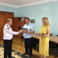 З нагоди професійного свята відзначили правоохоронців Рожищенщини