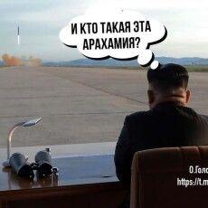 Арахамія постав в образі північнокорейського диктатора Кім Чен Ина (Фото)