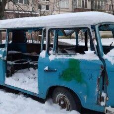 У Києві замерз двірник ЖЕКу (Фото)