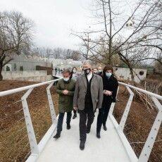 У Черкасах за підтримки Roshen будують зоопарк