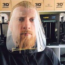У Луцьку засоби захисту від коронавірусу… друкують на 3D-принтері