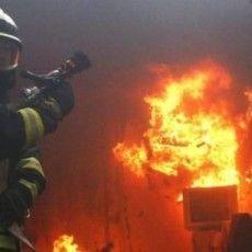 На Волині під час пожежі врятовано маму з дитинкою