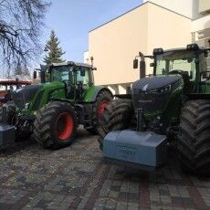 На Театральний майдан Луцька приїхали величезні трактори