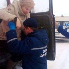 Рятувальники надали допомогу породіллі, до якої через замети, не могла доїхати «швидка»