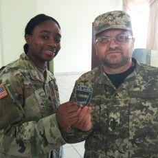 Капелан 14 бригади проходить навчання на Яворівському полігоні