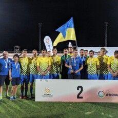 Волинянин — у складі команди-срібного призера Паралімпійського чемпіонату світу з футболу