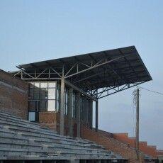 У Ковелі триває реконструкція стадіону «Локомотив» (фото)