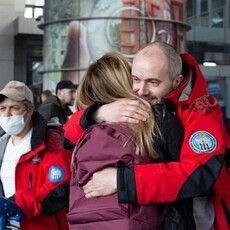 Рівненський полярник-атовець  10 днів добирався з Антарктиди
