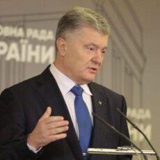 Порошенко: маска «державника» із Зеленського спала, щойно зайшла мова про серіали для Росії