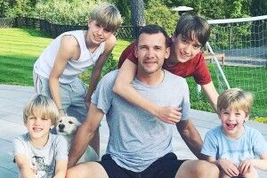 Андрій Шевченко похвалився своїми синами