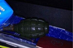 В молодика, який приїхав за «закладкою», знайшли гранату