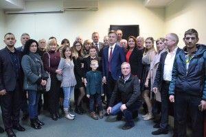Валентин Наливайченко:«Настав час обрати Президента,який захищає українців»*