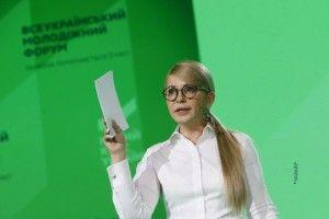 Юлія Тимошенко: «Молоді– гідні умови для життя тапраці вУкраїні»*