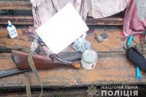У Ратнівському районі поліцейські вилучили зброю